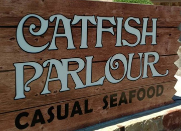 Catfish Parlour sign