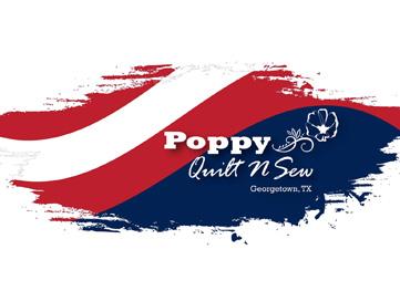 Poppy Quilt 'N Sew