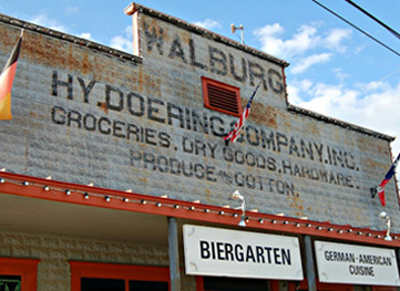 walburg mercantile and beergarden