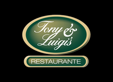 Tony & Luigi's Restaurant sign