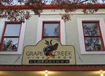 Grape Creek Winery in Georgetown