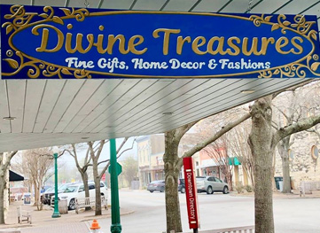 Divine Treasures in downtown Georgetown
