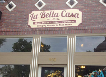 La Bella Casa shop in downtown Georgetown