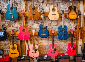 Ken'z Guitars in downtown Georgetown
