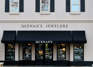 Quenan's Jewelers in downtown Georgetown