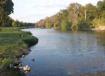 San Gabriel Park in Georgetown