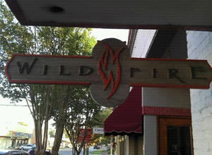 Wildfire Restaurant Sign