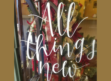 All Things New – Florals and Gifts