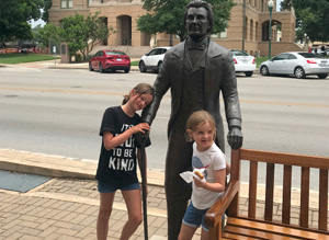 what to do with kids in Georgetown TX by Gabby Cullen