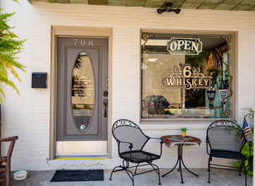 6 Whiskey Boutique in downtown Georgetown