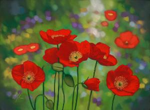 Red Poppy Festival Art