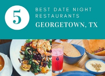 Banner image promoting Best Date Nights in Georgetown blog post