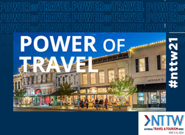 National Travel and Tourism Week 2021: Georgetown Convention and Visitors Bureau Celebrates the 'Power of Travel'